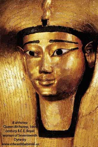 Ah hotep Queen of Egypt